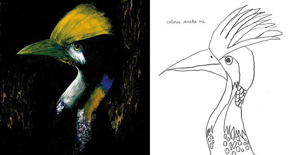 Uccelli da disegnare e da colorare topipittori - Semplici disegni di uccelli ...